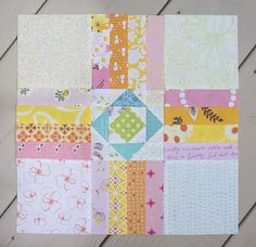 Today marks week 11 of the Summer Sampler 2016 quilt along, and things are definitely steamy here in Chicago. Yesterday's heat index was 109 degrees! Hot hot hot, perfect weather for the pool or sewing in the air conditioning.  This week's block Ombre Cross is designed by AnneMarie Chany of Gen X Quilters. This …
