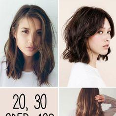 Je nach Alter benötigt unsere Haut eine andere Pflege. Auch bei unseren Haare gilt: Je nach Alter ist ein anderer Schnitt gefragt...