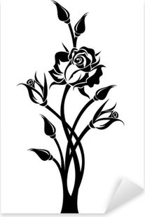 Rose Stencil, Stencil Art, Quilling Patterns, Stencil Patterns, Simple Wall Paintings, Dream Catcher Vector, Nagel Stamping, Lilies Drawing, Rose Drawing Tattoo