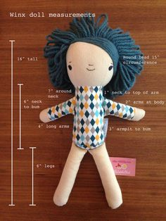 Wee Wonderful's Winx doll at Land of Nod