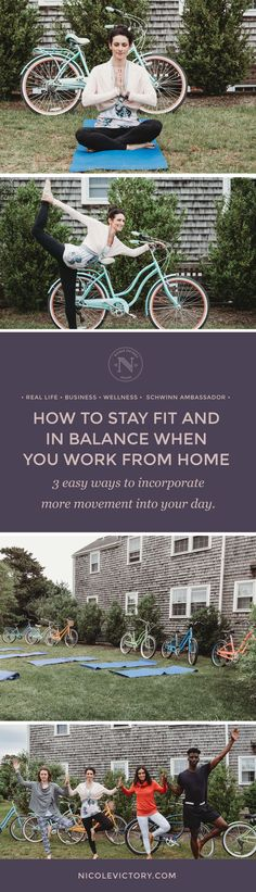 How to stay fit and