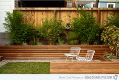 Take a Look at 15 Designs of Wooden Outdoor Planters | Home Design Lover