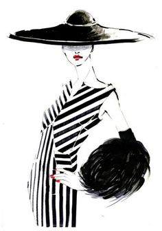 Fashion illustration at its best. From Haute Couture to the cat walk, from catalogue to off the shelf. Illustration Art Nouveau, Illustration Mode, Fashion Illustration Sketches, Fashion Sketches, Fashion Drawings, Fashion Graphic, Fashion Art, Fashion Beauty, Fashion Design