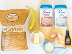 A Baby Cereal Pancake Recipe Using Commercial Baby Cereal for a Tasty Nutritious Baby Cereal Pancakes