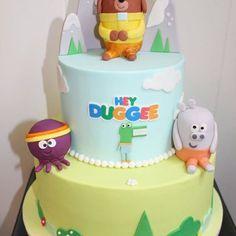 Image result for hey duggee cake 2 Birthday Cake, Cake Ideas, Raising, Parties, Desserts, Baby, Kids, Image, Food