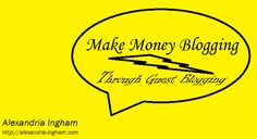 Could you make money blogging with guest blogging? It could be a great option when used properly.