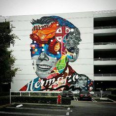 """tschelovek_graffiti: """"@tristaneaton с помощью @shanejessup и @maxhaus в Лос-Анджелесе для @librarystreetcollective. Address: 400 Continental Blvd El Segundo CA 90245 USA. Photo by @otrujillodesign. #tristaneaton #streetartla #lastrertart #strertartlosangeles #losangelesstreetart #граффити_tschelovek #streetart #urbanart #graffiti #mural #стритарт #граффити #wallart #graffitiart #art #paint #painting #artederua #grafite #arteurbana #wall #artwork #graffiticulture #graffitiwall…"""