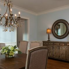 Traditional Dining Room Design -Fairway Row Project - Lauren Nicole Designs - Interior Designer in Charlotte, NC - www.laurennicoleinc.com