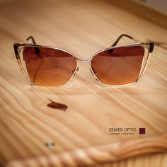 Vintage Womens  Eye Glasses 60s 70s GOTTEX Retro Fashion Eye wear Unworn  Change to sun lenses or optical FREE #69 by ZemerOptic on Etsy