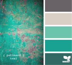 Almost the color pallet to my house!