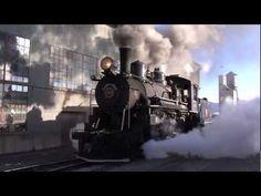 Winter Steam - Nevada Northern Railway