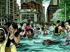 Flood, Rebuild, Repeat: Are We Ready for a Superstorm Sandy Every Other Year? Why we pretend the next storm won't happen—and flush billions in disaster relief down the drain. Statue Of Liberty Crown, National Debt Relief, Save Our Earth, Hurricane Sandy, Working Together, Environmental Issues, Global Warming, Beautiful World, Climate Change