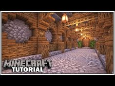 How to Build a Tunnel in Minecraft [Minecraft Tutorial] I am going to show you How to build a tunnel in Minecraft! This tunnel can be used underground t. Minecraft Building Guide, Minecraft Farm, Easy Minecraft Houses, Minecraft Castle, Minecraft Medieval, Amazing Minecraft, Minecraft House Designs, Minecraft Decorations, Minecraft Construction