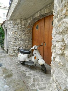 Scooters of Ravello, Italy