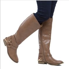 Shoedazzle- Fanesia Knee High Boot- Brand New