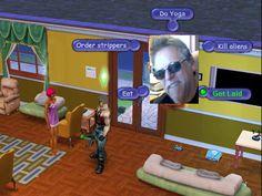 My custom hacked Sims .... hehe