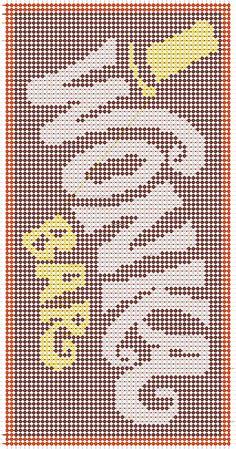 Diy Friendship Bracelets Tutorial, Diy Friendship Bracelets Patterns, Diy Perler Beads, Perler Bead Art, Alpha Patterns, Loom Patterns, Cross Stitch Designs, Cross Stitch Patterns, String Bracelet Patterns