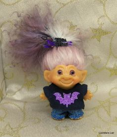 Vintage Scandia House Troll Doll OOAK by LucretiasLair on Etsy