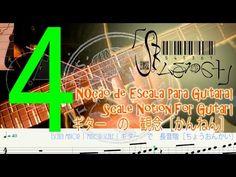 Escala Maior ( Guitarra )4 | Major Scale ( Guitar )4 |四: ギター で 長音階[ちょうおんかい]