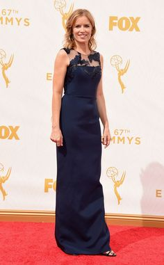 Kim Dickens from 2015 Emmys: Red Carpet Arrivals  In Romona Keveza