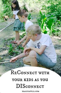 summer fun for kids and connecting as a family