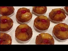 How to make Pineapple Upside Down Cupcakes - Simply Basic Recipes