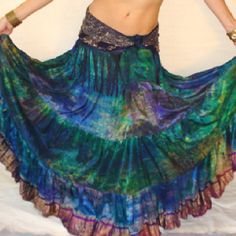 A Gypsies Skirt of many Colors
