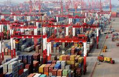 International Business News: China's third quarter economic growth slowed to its weakest pace since the global financial crisis as trade war with the United States began to bite. London Police, Latest Business News, Air India, Trump Taxes, London Underground, Times Of India, Around The Worlds, Hinduism, Finance