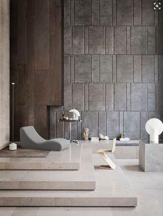 Une pièce à vivre dans une ambiance très brute. #décoration #luxe #pièceàvivrePlus de nouveautés sur magasinsdeco.fr
