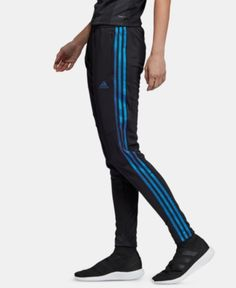 adidas Pearl Essence Tiro ClimaCool Soccer Pants - Black/Blue Pearl Soccer Pants, Soccer Clothes, Athletic Clothes, Soccer Outfits, Plus Size Designers, Plus Size Shopping, Training Pants, Blue Adidas, Baby Clothes Shops