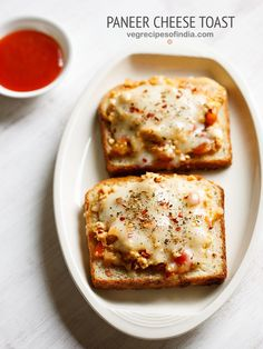paneer cheese toast recipe on tawa - easy yet delicious toast sandwich recipe.