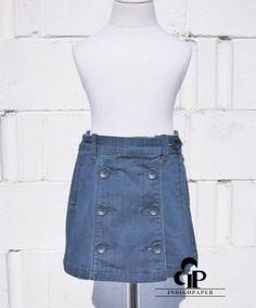 Deep Crystal Skirt | IndigoPaper