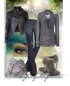 """Lady of Style"" by arreyn-grey on Polyvore"