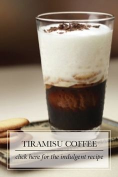 "Tiramisu Coffee | ""Tiramisu"" means ""take me to heaven!"" And with all the flavor of every gourmet's favorite Italian dessert, this chocolaty espresso promises to be a sublime indulgence."
