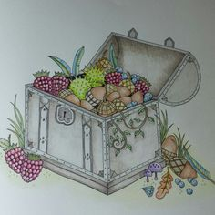 Johanna Basford | Picture by Marjorie | Colouring Gallery