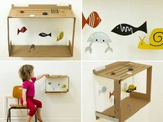 GREAT idea for younger kids visiting the aquarium for special events! #diykids #GeorgiaAquarium