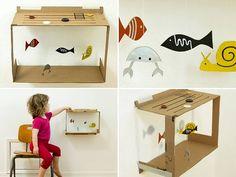GREAT idea for younger kids visiting the aquarium for special events! #diykids #GeorgiaAquarium