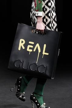 I read the fashion news the other day and the title says: 'Gucci Is Trendy Again'. We have noticed Gucci's comeback as well – they have released many bags Hermes Handbags, Burberry Handbags, Designer Handbags, My Bags, Purses And Bags, Fendi, Gucci Gucci, Gucci Bags, Trends 2018
