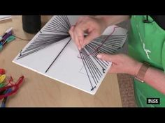 Blick Lesson Plans: Perspective String - YouTube