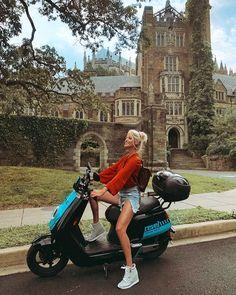 Revel Mopeds Washington D.C. - Blazers and Bubbly by Julie Holland Electric Mopeds, We Wear, Washington Dc, Online Boutiques, Spotlight, Holland, The Neighbourhood, Blazers, Beautiful Women