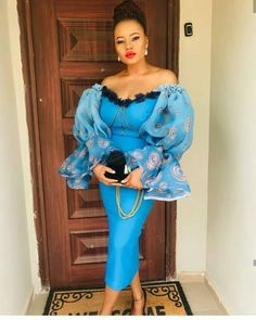 South African Fashion, Latest African Fashion Dresses, African Wear, African Women, Lace Dress Styles, Aso Ebi Styles, African Beauty, African Fabric, Black Is Beautiful