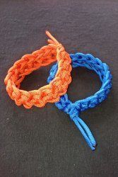This paracord cuff bracelet is the new fashion. Using 14 to 15 feet of paracord and this free crochet pattern you can make your own jewelry to show off. It's an easy pattern you'll love to share with your friends and family.