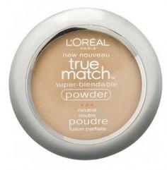 L'Oréal®️️ Paris True Match Super-Blendable Powder- sand beige liked this better than the rimmel stay matte Compact Foundation, Classic Tan, L'oréal Paris, Face Powder, Loreal, Concealer, Face Makeup, Makeup Blush, Just For You