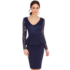 a15f4c7a7d7 Celebrity Office Work Women s Formal Career Business Wiggle Pencil Party  Dresses