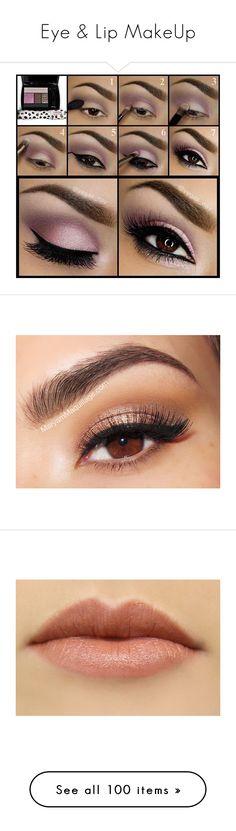 """Eye & Lip MakeUp"" by mysuperjam ❤ liked on Polyvore featuring beauty products, makeup, eye makeup, eyeshadow, eyes, beauty, lancome eye makeup, palette eyeshadow, eye brightener makeup and lancome eyeshadow"