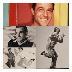 """Gene Kelly    """"I never wanted to be a dancer. It`s true! I wanted to be a shortstop for the Pittsburgh Pirates.""""     Best features: his dancing.  Famous movies: Singin´ In The Rain, An American In Paris, Anchors Aweigh"""