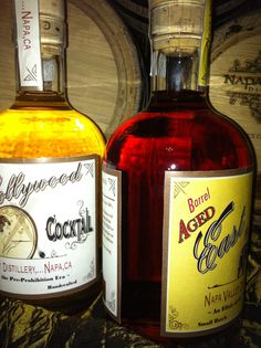 WOW! Barrel Aged Cocktails...created by Napa Valley Distillery.  Go to indiegogo.com type in napa valley distillery in the search engine and help support the launching of Barrel Aged Cocktails....Cheers!