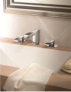 Смесители и душевые системы Fantini: PLANO #hogart_art #interiordesign #design #apartment #house #bathroom #fucet #bath #fantini