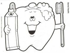 Dental Hygiene Preschool coloring pages - - Image Search Results Health Activities, Preschool Activities, Space Activities, Dental Health Month, Material Didático, Preschool Coloring Pages, Community Helpers, Health Lessons, Healthy Teeth