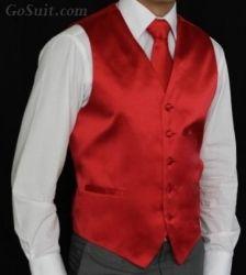 Men's Vest Solid Color - 08